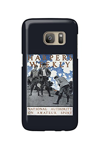 harpers-weekly-national-authority-on-amateur-sport-vintage-poster-artist-mp-usa-galaxy-s7-cell-phone
