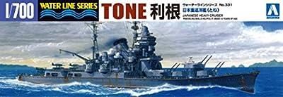 1/700 Water Line No.331 Japanese Navy Heavy Cruiser Tone (japan import) von Aoshima