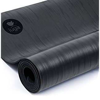 IUGA Pro – Esterilla de Yoga Antideslizante, Rendimiento Antideslizante inmejorable, Respetuoso con el Medio Ambiente y Certificado SGS, sin Olor, Ligera y Extragrande, con Correa de Transporte