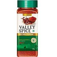 Valley Spice Red Chilli Powder - Mild & Bright - Select 100g
