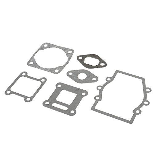 Sharplace 6pcs Motor Motor Dichtung Set für 47cc 49cc Mini Quad-Bikes Kopf Vergaser Auspuff Spule