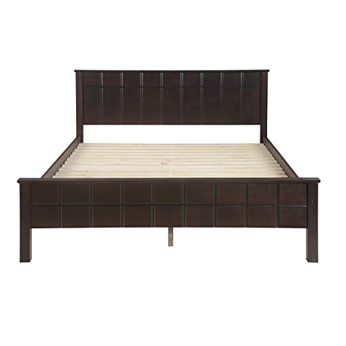 @home by Nilkamal Cipher Queen Size Bed (Espresso)