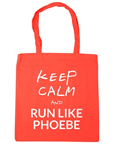 hippowarehouse-keep-calm-and-run-like-phoebe-mantn-la-calma-y-corre-como-phoebe-bolso-de-playa-bolsa