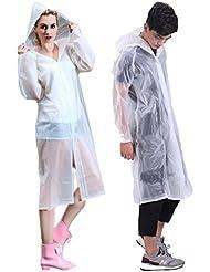 Xy Life Poncho de lluvia, impermeable, reutilizable, EVA
