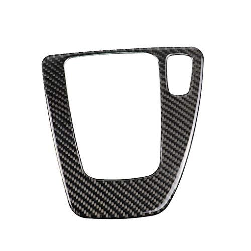Provide The Best Disposizione Interna in Fibra di Carbonio del Cambio di Copertura Pannello di Controllo Sticker RHD Auto replacemnt per BMW E90 E92