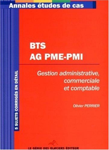BTS AG PME-PMI : Gestion administrative, commerciale et comptable
