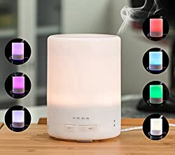 MAYERS ieGeek 3 in 1 USB Essential Oil Diffuser Ultrasonic Air Humidifier LED Light Aromatherapy Dry Protecting
