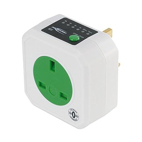 ANSMANN AES-1 Zero Watt Energy Saving Timer Plug