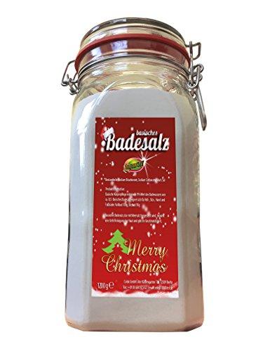 Basisches Bade-Salz Badesalz WEIHNACHTS EDITION Entspannung