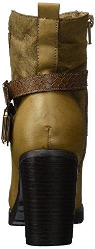 HIS - 46212, Stivali bassi con imbottitura leggera Donna Beige (Beige (tortora))
