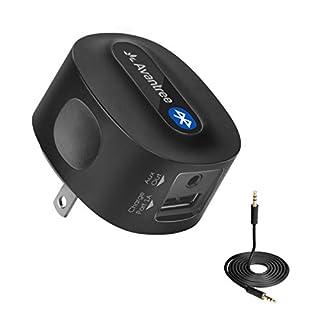 Avantree aptX Low Latency Bluetooth Empfänger für Stereoanlage mit Stecker, Wireless Audio Receiver Adapter Musik mit 3,5mm Aux Cinch Kabel für Musikstreaming-Soundsystem, HiFi - Roxa Plus