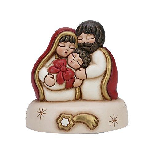 THUN Carillon Sacra Famiglia Ceramica 13 cm h