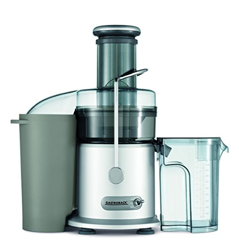 GASTROBACK #40126 Design Juicer Pro, Zentrifugal-Entsafter, großer Einfüllschacht Ø 75 mm, 950 Watt