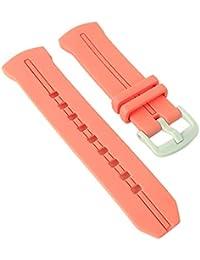 61f0de7f439c Correa de Repuesto para Reloj de Pulsera de Mujer Casio Baby-G de Resina  Naranja