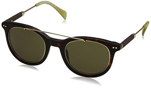 Tommy Hilfiger Herren TH 1348/S 1E JU5 49 Sonnenbrille, Gold (Havangold Brown/Green),