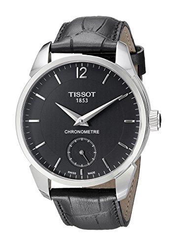 Tissot Homme T0704061605700T-complication Affichage analogique remontage manuel Black Watch