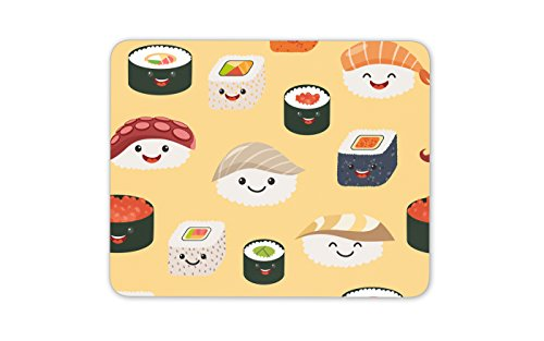 Cool sushi tappetino per mouse pad – giapponese giappone travel food fun gift computer pc # 8358
