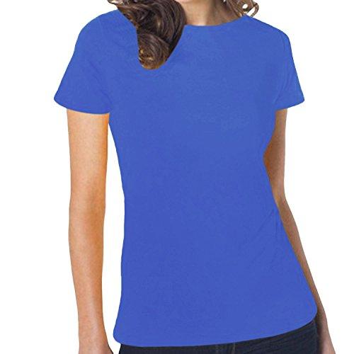 Hanes -  T-shirt - Maniche corte - Donna Blu