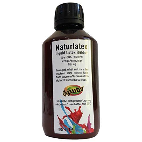 Flüssiglatex 250 ml Latexmilch, naturfarben, Naturgummi flüssig, Latex, Gummimilch, Sockenstopp liquid latex