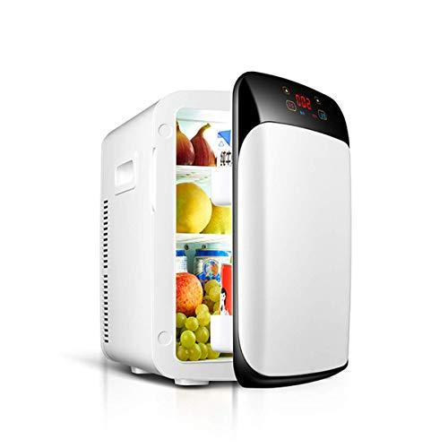 L@LILI Dual-Core-intelligentes digitales Display Mini-Kühlschrank, kompakter Kühlschrank für zu Hause, Auto-Kompakt & Portable-AC & DC Power Cords,15L -