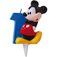 Mickey Mouse Candle Number 1Design (Verbetena 014000391)