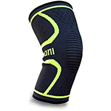 Azani Compression Knee Support Sleeve - Black, S