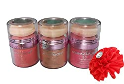 Cameleon 3D Face & Body Bronzer Waterproof Pack of 3 (Shade-C)