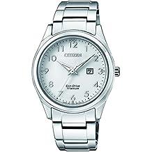 0684ddd88814 Citizen Reloj Análogo clásico para Mujer de Energía Solar con Correa en ...