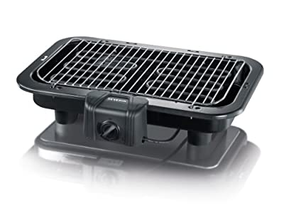 Severin PG 2790 Electric Barbecue Grill, 2500 Watt, Black from Severin
