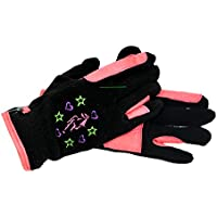 Riders Trend Girl's Riding  Fleece Gloves