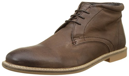 Base London Herren Mortimer Desert Boots Marron (Brown Softy)