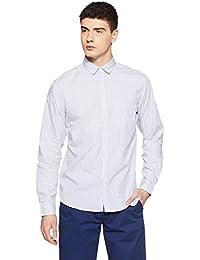 John Miller Men's Printed Slim Fit Cotton Casual Shirt