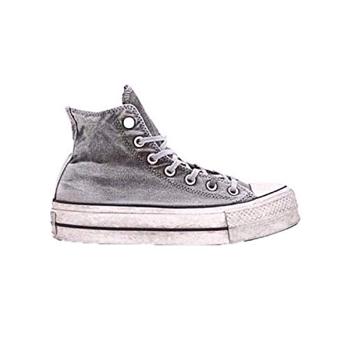 96a437c8cb40 Converse Chaussures Femme Baskets Chuck Taylor All Star Smoked Gris SS 2019
