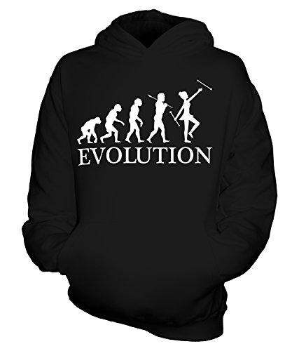CandyMix Baton Twirling Evolution Des Menschen Unisex Kinder Jungen/Mädchen Kapuzenpullover, Größe 12-13 Jahre, Farbe (Baton Twirling Kostüme)