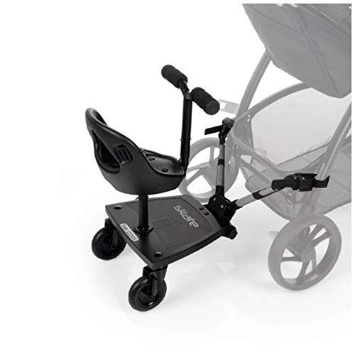 Imagen para Be Cool Skate 502  - Patinete universal  para coche de paseo, Negro