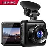 apeman Mini In Car Dash Cam 1080P FHD CarDVR 170°Wide Angle Advanced Sensor