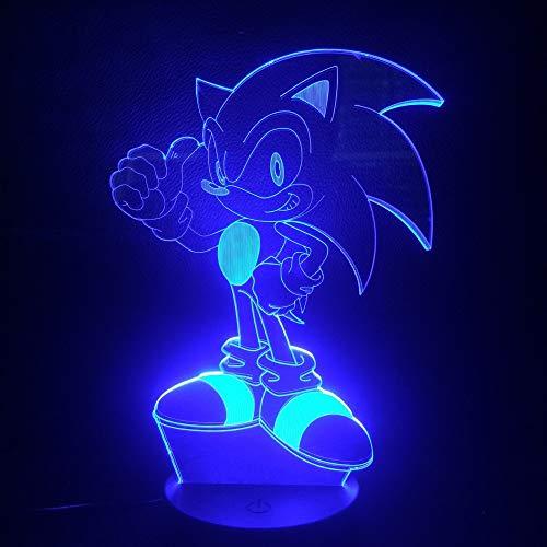 ehog Kinder LED Nachtlicht Dekorative Lampe Kind Kinder Baby Geschenk 7 Farbwechsel Schreibtischlampe Nacht Deko ()