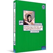 Einführung in die Test- und Fragebogenkonstruktion (Pearson Studium - Psychologie)