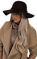 Women's Ladies Stunning Floppy Braided Winter Glam Hat