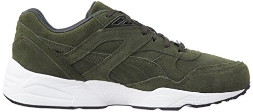 Puma Unisex-Erwachsene R698 Allover Sneaker Grün - Vert (Forest Night/White)