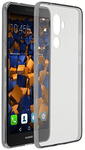 mumbi UltraSlim Hülle für Huawei Mate 9 Schutzhülle schwarz transparent (Ultra Slim - 0.70 mm)