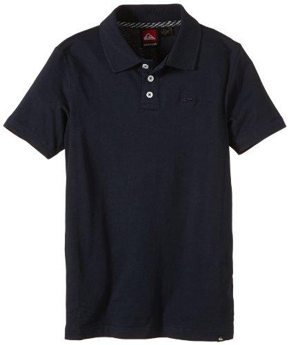 """Quiksilver - Polo da bambino """"Belogo Youth"""", Blu (blu navy), 8 anni"""