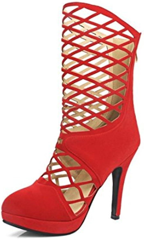 Cinq KPHY Chaussures Femmes/Les Chaussures en Cuir À LIntérieur Les Femmes Moyen Classique en Étudiant Les Chaussures.Black Trente Chaussures