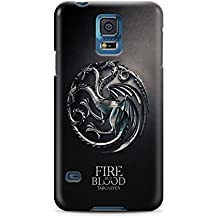 Game Of Thrones Coat Of Arms Targaryen Samsung Galaxy S5 Hard Case Cover