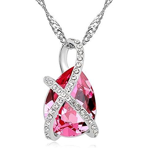 FANSING Joyería Hecho con el elemento de Swarovski Cristal Collares Pendientes Para Mujeres