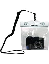 "DRY PAK DP-65CW 6"" x 5"" White/Clear Camera Case"