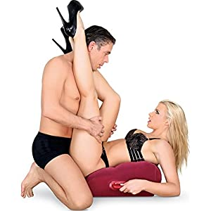 Adam and Eve Red Inflatable Position Master Pillow by Adam and Eve