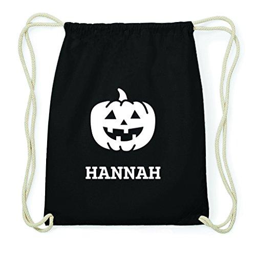 JOllify Turnbeutel Halloween für Hannah - Kürbis