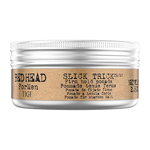 Tigi Bed Head Men Slick Trick Pomade, 1er Pack (1 x 75 g) (Head Bed Paste Styling)