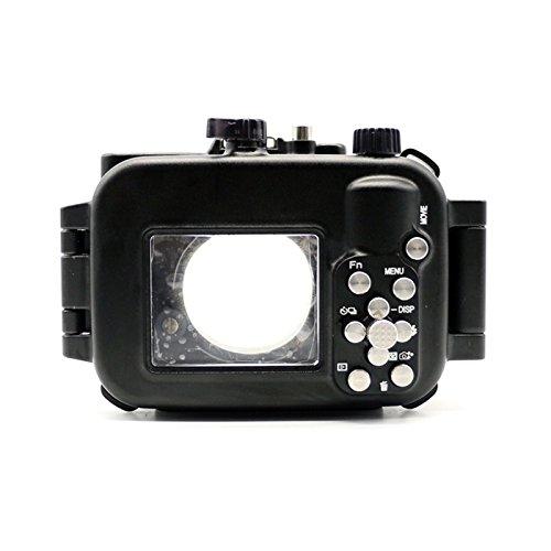 hofoo scub de plongée 100m sous-marine/352ft Coque en aluminium Imperméable pour appareil photo Sony RX100IV/M4